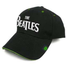 Beatles - The Beatles Men's Baseball Cap: Drop T with Badge