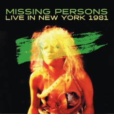 Missing Persons - Live In New York 1981 (Fm)