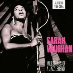 Sarah Vaughan - Milestones Of A Jazz Legend