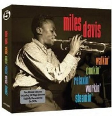 DAVIS MILES - Walkin',Cookin', Relaxin', Workin'