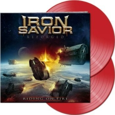 Iron Savior - Reforged - Riding On Fire (2 Lp Red