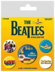 The beatles - The Beatles (Yellow Submarine) Badge Pack pin