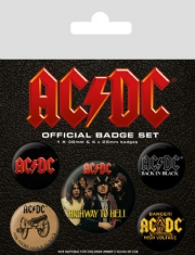 AC/DC - AC/DC Badge Pack Pin (Logo)