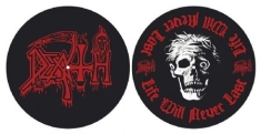 Death - Life will never last SLIPMATS