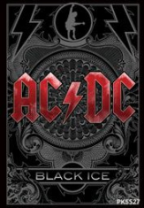 AC/DC - AC/DC Acrylic Keychain (Black Ice) in the group Minishops / AC/DC at Bengans Skivbutik AB (2996532)