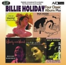 Holiday Billie - Four Classic Albums in the group Julspecial19 at Bengans Skivbutik AB (3043889)