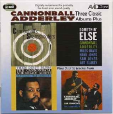 Adderley cannonball - Three Classic Albums-Plus