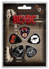 AC/DC - AC/DC Licensed Plectrum Set