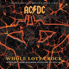 AC/DC - Whole Lotta Rock - In Concert Cleveland 1977 (LTD Molten Rock Vinyl)