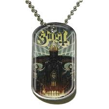 Ghost - Dog Tag Pendant: Meliora