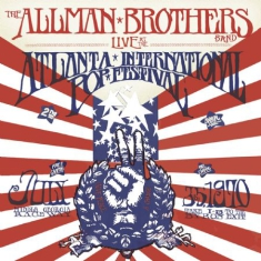 Allman Brothers Band The - Live At The Atlanta International Pop IMPORT