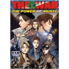 Exo - Vol.4 Repackage / THE WAR: THE POWER OF MUSIC(KOREAN VER.)