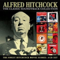 Hitchcock Alfred - Classic Soundtrack Collection (4 Cd