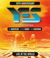 Yes Feat Jon A,Trevor R,Rick W - Live At The Manchester Apollo 2017