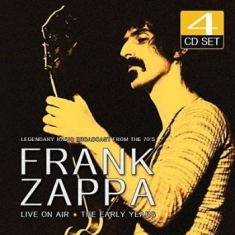 Frank Zappa - Live On Air (4Cd)