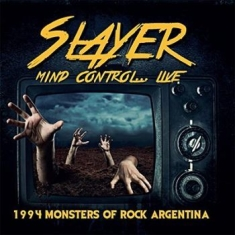 Slayer - Mind Control..Live 1994 Argentina