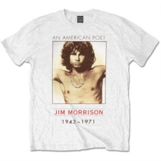 The Doors - Men's Tee: American Poet