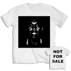 Kanye West - Men's Tee: Not For Sale with Back Printing