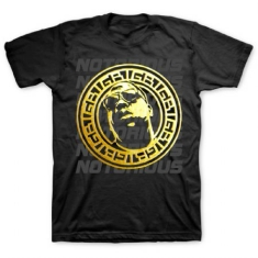 Biggie Smalls - T-shirt Gold Circle