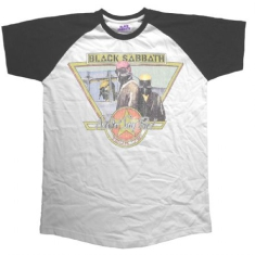 Black Sabbath - Raglan T-shirt Never Say Die Tour 1978 (M)
