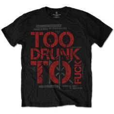 Dead Kennedys Too Drunk T-shirt S