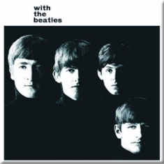 The beatles - FRIDGE MAGNET: WITH THE BEATLES