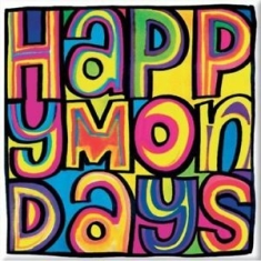 Happy Mondays - FRIDGE MAGNET: DAYGLO LOGO