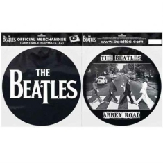 Beatles - Slipmat - Beatles Abbey Road