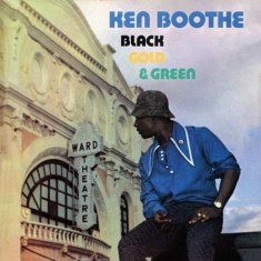 Ken Booth - Black, Gold & Green (Col.Vinyl)