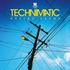 Technimatic - Desire Paths Lp in the group VINYL / Upcoming releases / Dance/Techno at Bengans Skivbutik AB (3492188)