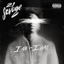 21 Savage - I Am > I Was in the group VINYL / Upcoming releases / Pop at Bengans Skivbutik AB (3495075)