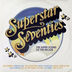 Various artists - Superstar Seventies - The super sound of the decade