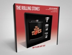 Rolling Stones - Tongue (Hip Flask, 2 Cups & Funnel)