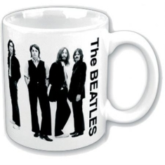 Beatles - THE BEATLES BOXED STANDARD MUG: WHITE ALBUM (BLACK & WHITE GROUP)