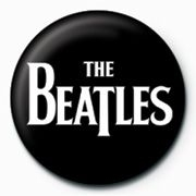 Beatles - Beatles - White Logo Pinbadge