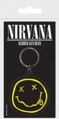 Nirvana - Nirvana (Smiley) Rubber Keychain