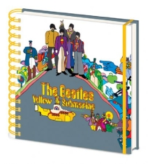 Beatles - Beatles (Yellow Submarine) Square Notebook CDU 10