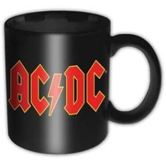 AC/DC - AC/DC BOXED STANDARD MUG: LOGO in the group Minishops / AC/DC at Bengans Skivbutik AB (3590381)