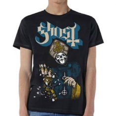 Ghost - GHOST MEN'S TEE: PAPA OF THE WORLD