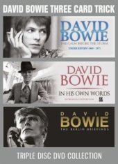 Bowie David - Three Card Trick (3 Dvd Documentary