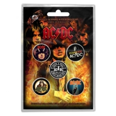 AC/DC - AC/DC BUTTON BADGE PACK: HIGHWAY TO HELL