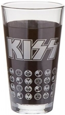 Kiss - KISS 16 oz. Glass Set of 2