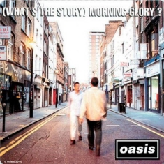 Oasis - What's the Story - Single Cork Coaster