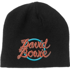 David Bowie - 1978 World Tour Log - Unisex Beanie Hat