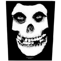 Misfits - Face Skull - Back Patch: