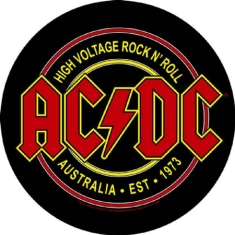 AC/DC - High Voltage Rock N Roll - Back Patch