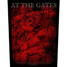 At The Gates Back Patch: To Drink From the Night I - To Drink From the Night Itself