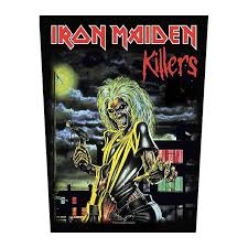 Iron Maiden - Killers - back patch in the group OTHER / Merchandise at Bengans Skivbutik AB (3655674)
