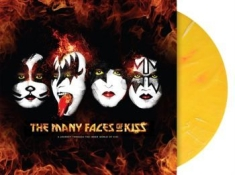 Kiss - Many Faces.. -Coloured-