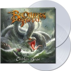 Brothers Of Metal - Emblas Saga (2 Lp Clear Vinyl Gatef